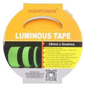 4 x Luminous Self-Adhesive Tapes 5M x 25