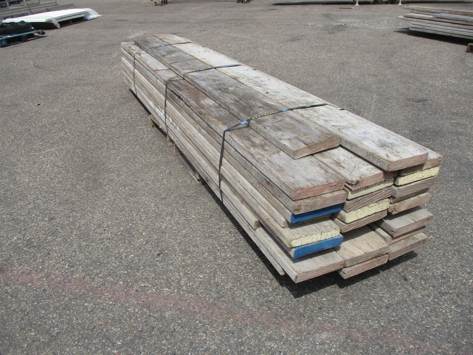 Pallet of Scaffold Planks