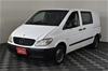2008 (COMP) Mercedes Benz Vito 109CDI Compact Turbo Diesel Manual Van