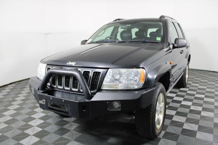 2003 Jeep Grand Cherokee Limited (4x4) WG Turbo Diesel Auto Wagon