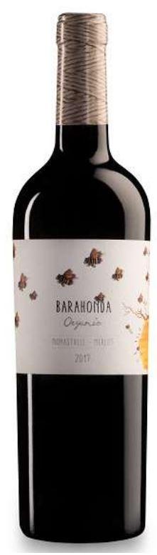 Barahonda Organic Barrica Syrah 2016 (6 x 750mL) Spain