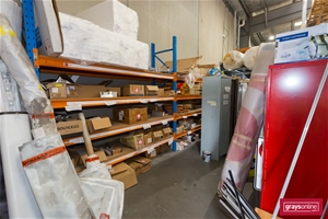 Store Room Shelving & Contents