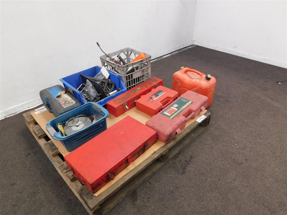 Pallet of Automotive Workshop Tools