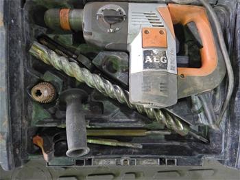 3x AEG PN3500X Rotary Hammer
