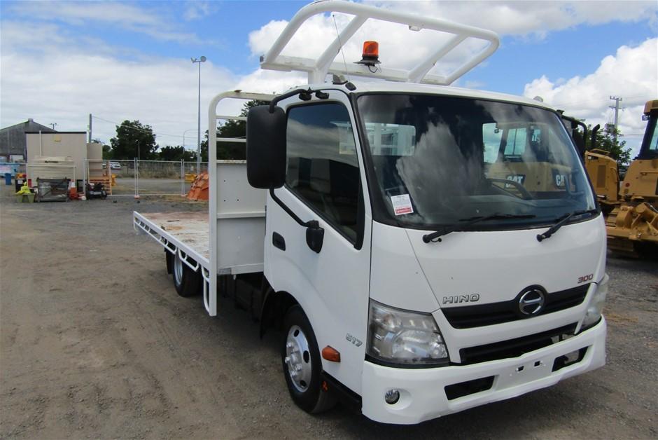 2012 Hino 300 Ser 2 4 x 2 Tray Body Truck