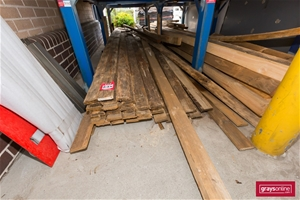 Large Quantity Assorted Timber Lengths