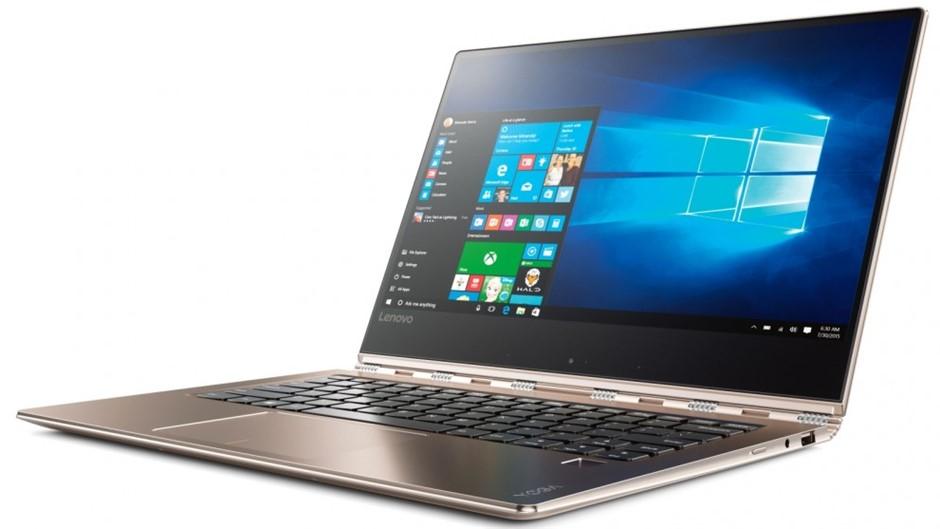 Lenovo Yoga 910-13IKB 13.9-inch Notebook, Gold