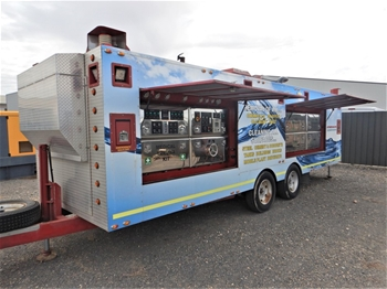 Industrial High Pressure Mobile Cleaning Unit (circa 2015)