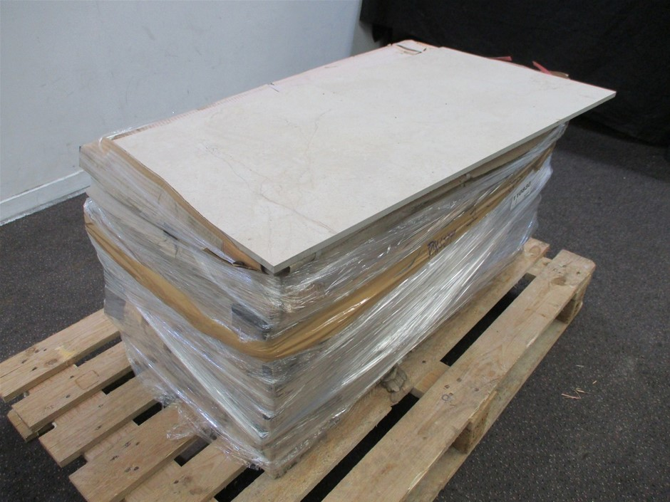 Pallet of Lappato Floor Tiles