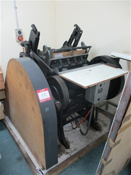 Chandler and Price Letter Press