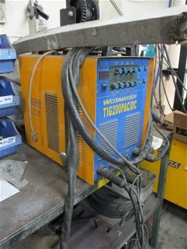 Weldmaster TIG 200 PAC/DC Pulse Inverter / Welder (Tig)