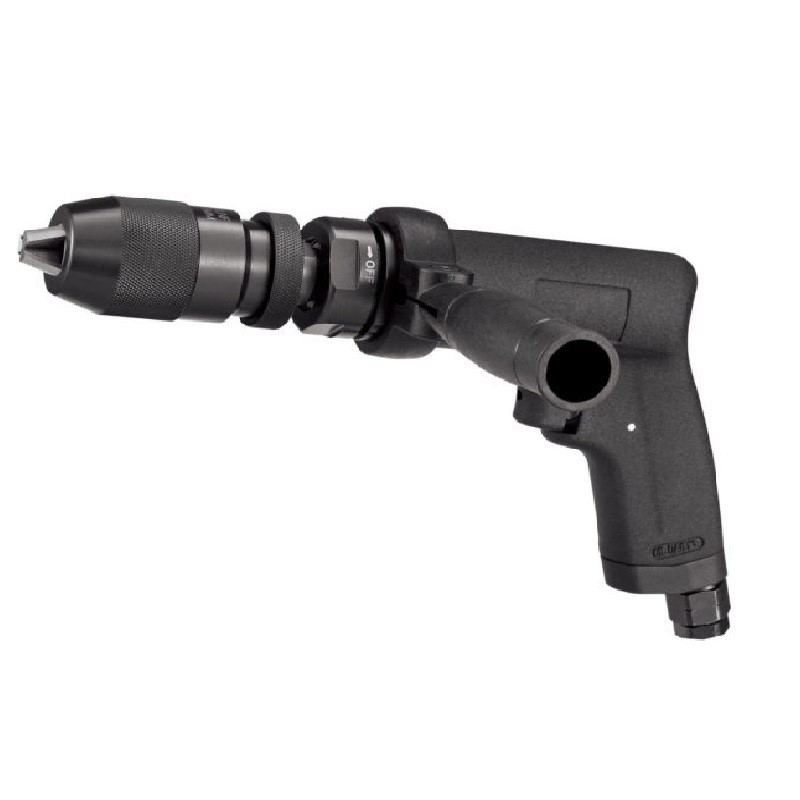 SIDCHROME 1/2`` Super Duty Air Drill 1300RPM with Aluminium Body and Self-L