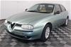 1999 Alfa Romeo 156 2.0 Twin Spark Manual Sedan