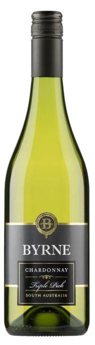 Byrne Triple Pick Oaked Chardonnay 2019 (6 x 750mL) SA