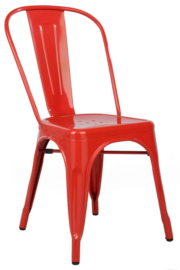 Replica Tolix Chair Red
