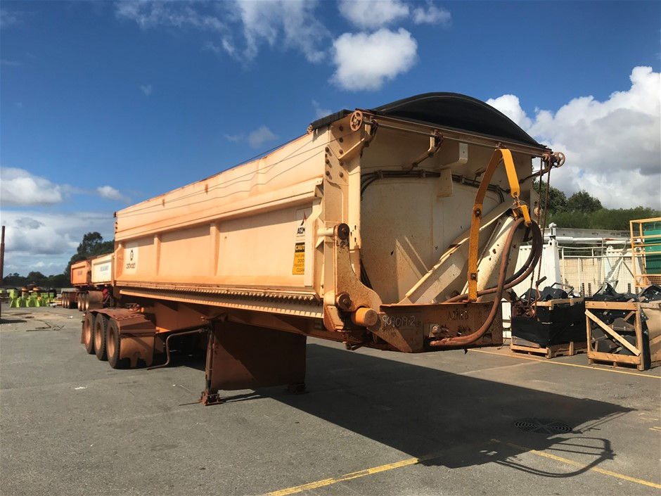 2006 Azmeb Triaxle Side Tipping 'A' Trailer