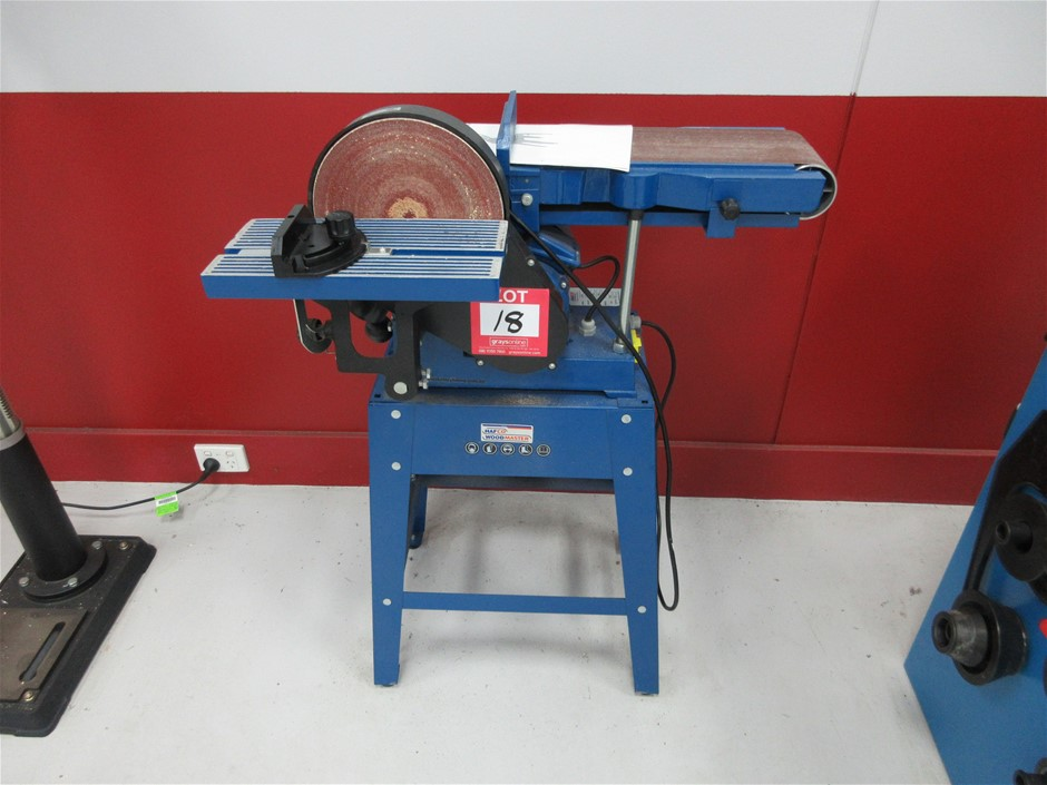 Hafco L-69A Belt Sander and Disc Grinder