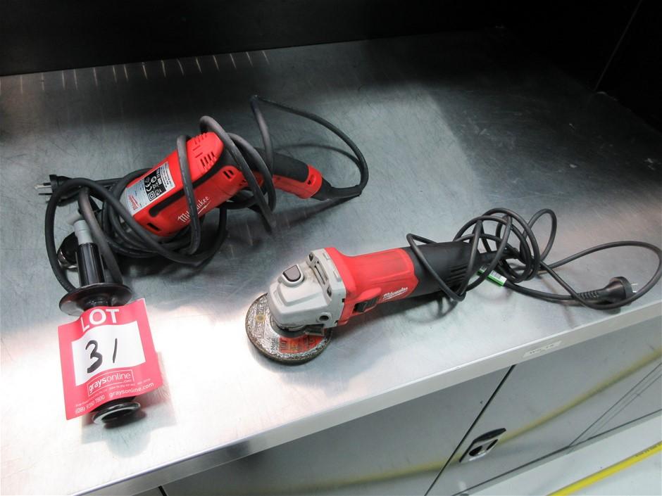 2 x Milwaukee Power Tools