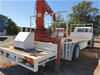 1999 Hino GD Truck with Crane