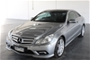 2009 Mercedes Benz E350 Avantgarde AMG Pack Automatic Coupe