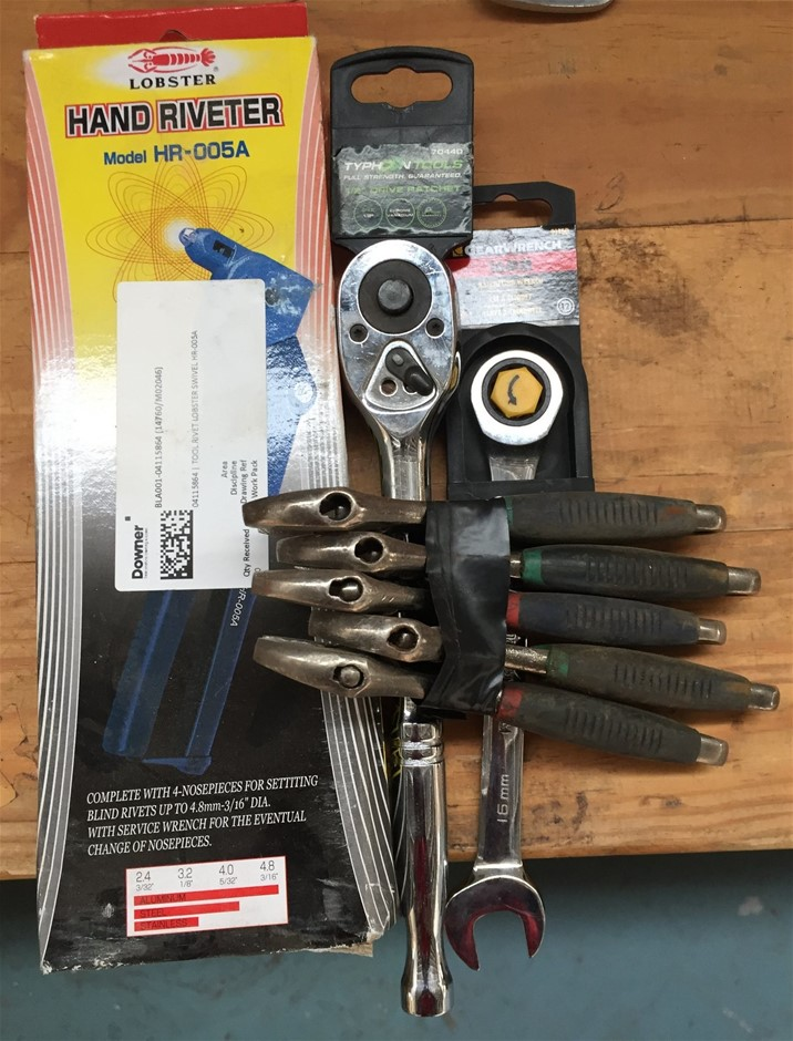 Assorted New & Used Tools