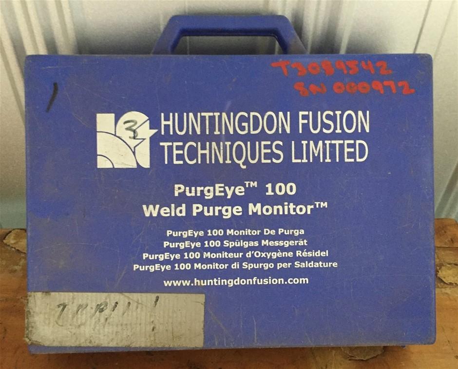 Huntngdon Fusion Techniques Limited Puregeye 100 Weld Purge Monitor