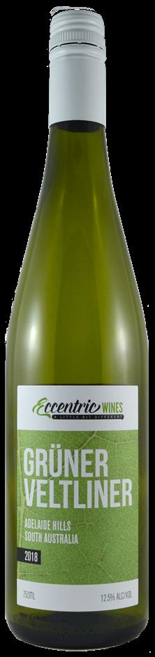Eccentric Wines Adelaide Hills Gruner Veltliner 2018 (6 x 750mL) SA
