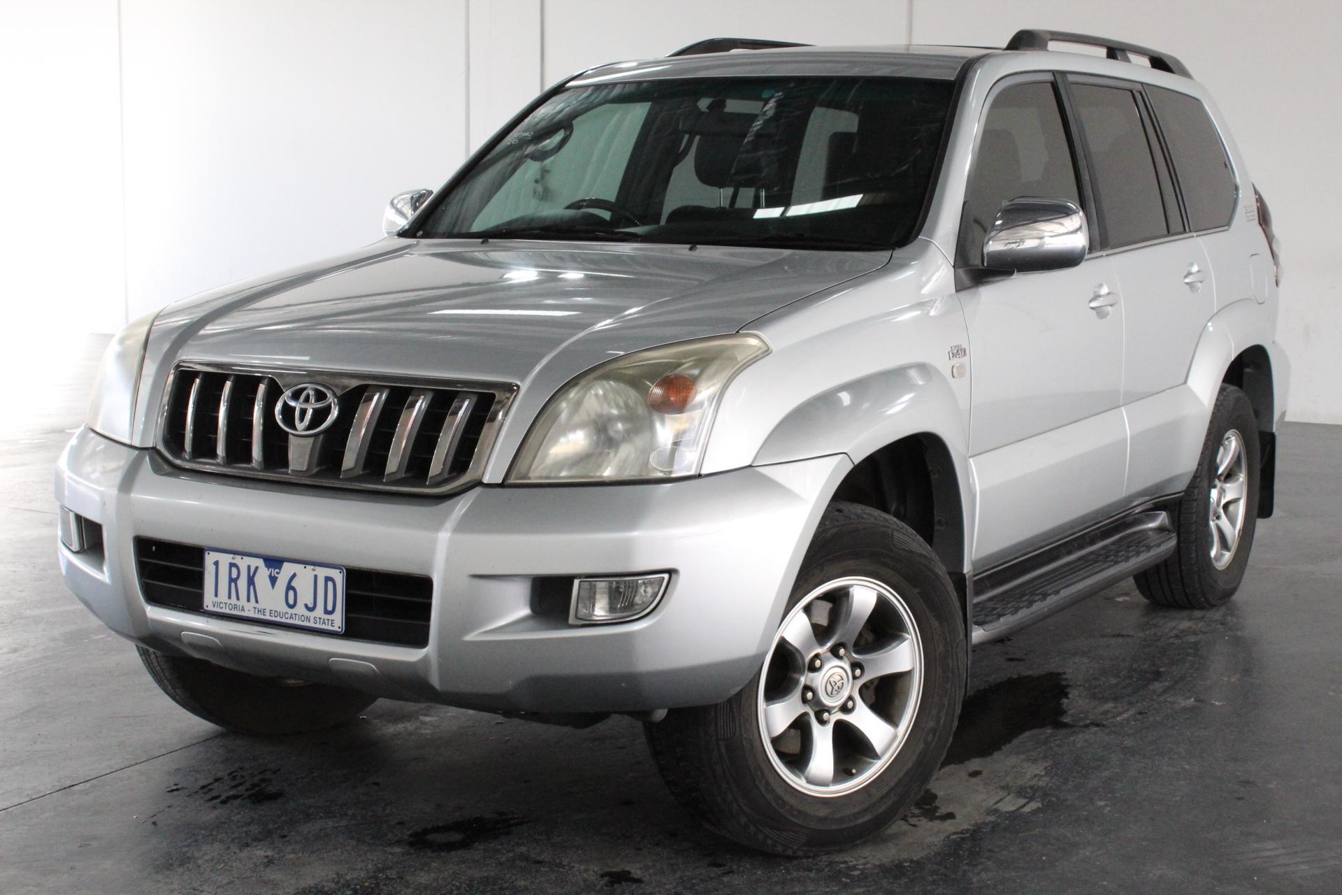 2008 Toyota Landcruiser Prado Grande 4x4 KDJ120R T/Diesel Auto 8 Seats