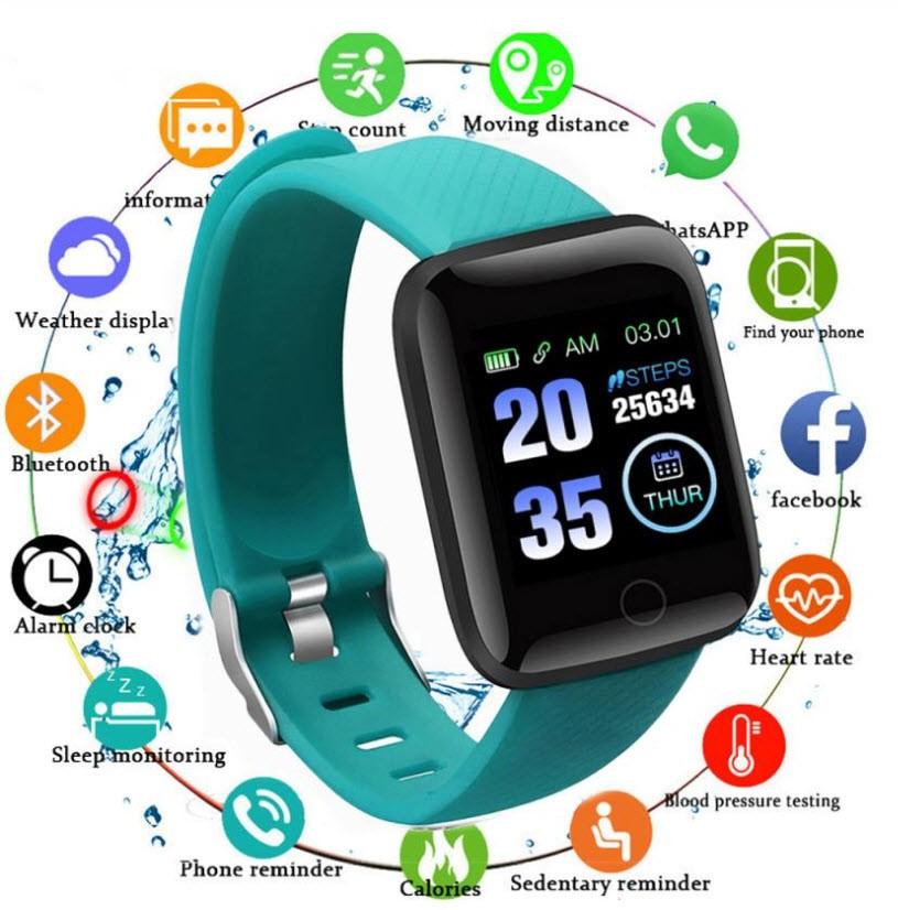 Pulse V70 Smart Watch Aqua Green