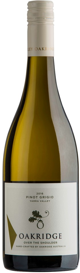 Oakridge OTS Pinot Grigio 2017 (6x 750ml), Yarra Valley, VIC. Screwcap