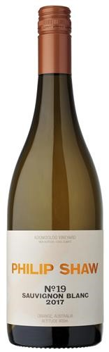 Philip Shaw No. 19 Sauvignon Blanc 2019 (6x 750ml), Orange NSW. Screwcap