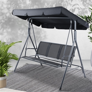 Gardeon Swing Chair Outdoor Furniture Ha