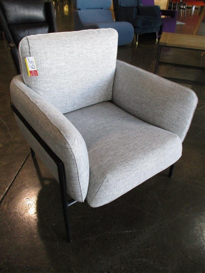 Charles Lounge Chair by Claudio Francesco Bellini