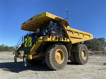 2019 Caterpillar 777G Rigid Dump Truck (RDT28)