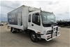 2002 Isuzu FY FRR500 4 x 2 Refrigerated Body Truck