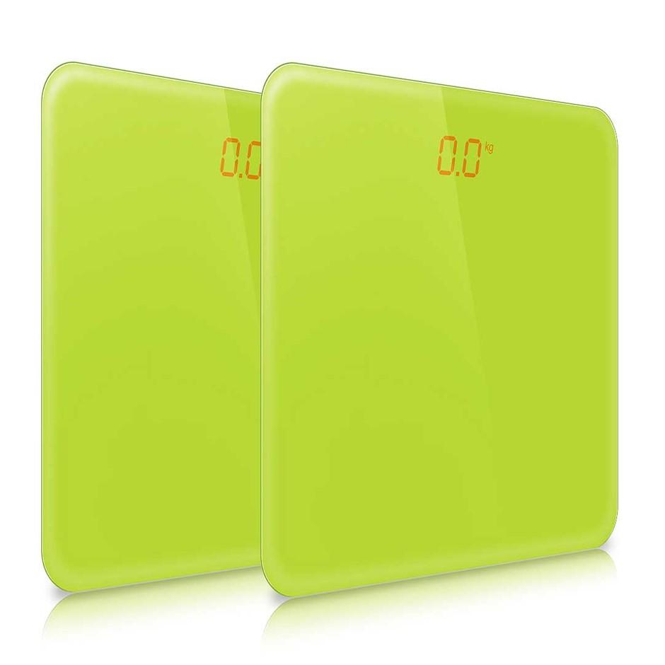 SOGA 2x 180kg Digital LCD Electronic Scale Green