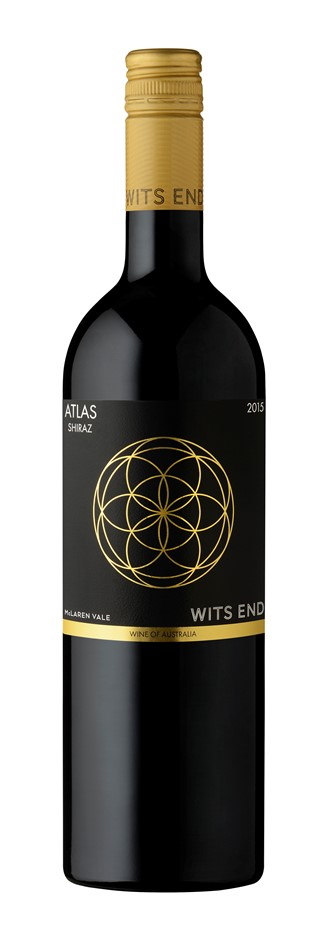 Wits End Atlas Shiraz 2018 (12x 750mL). McLaren Vale, SA