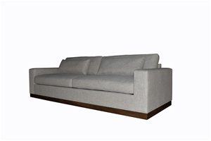 Rafael 4 Seater Grey Colour Sofa