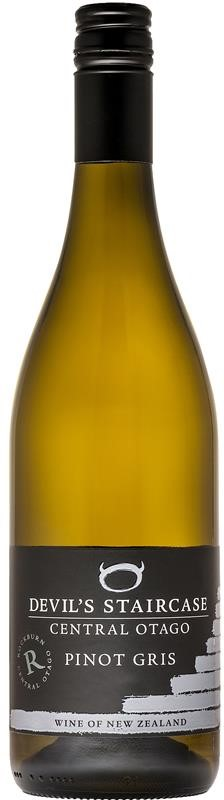 Rockburn Devil's Staircase Pinot Gris 2018 (12x 750mL), Central Otago, NZ.