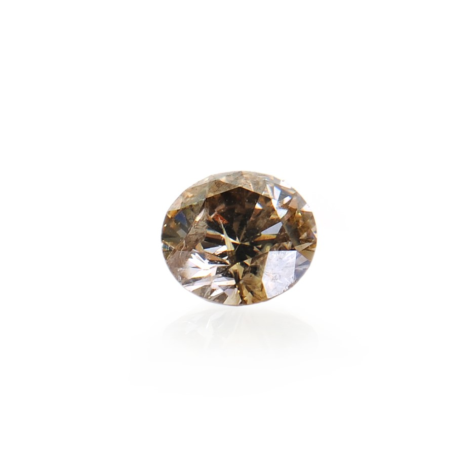 0.10ct Light Cognac Diamond