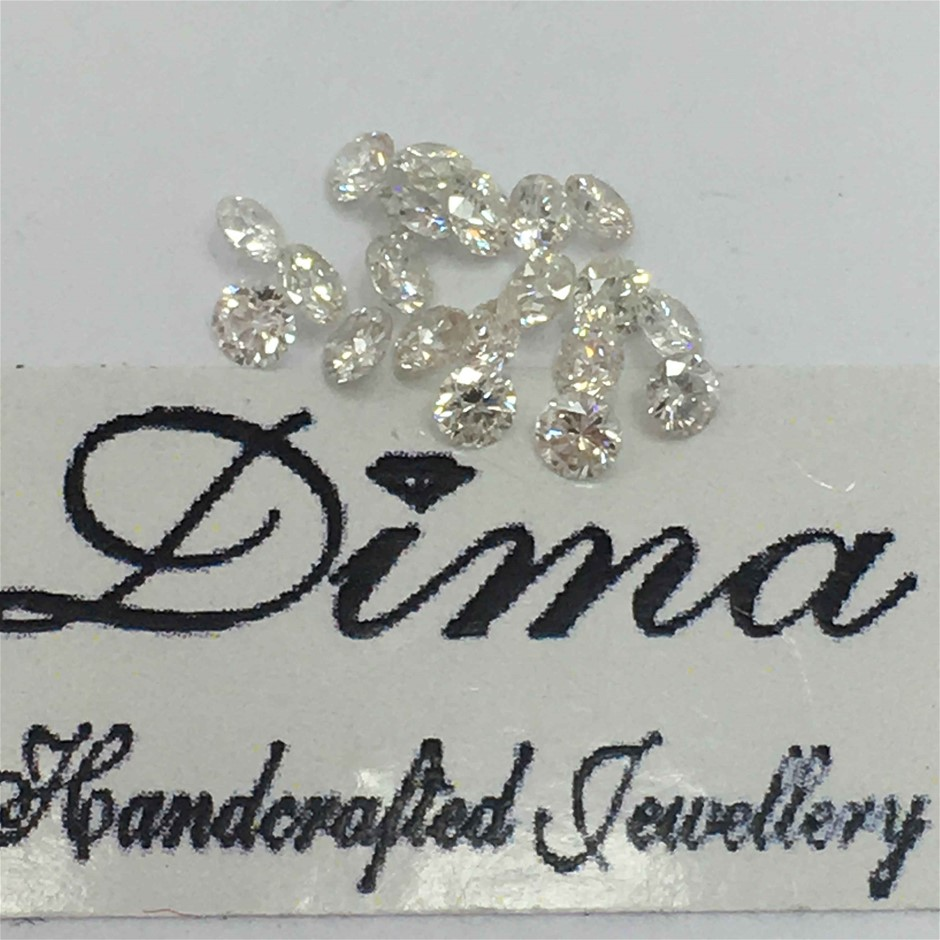 Twenty Stones Diamond, 0.28ct in Total