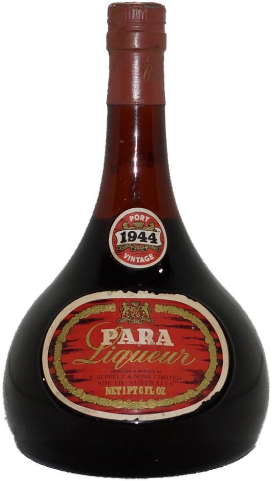 Seppelt Para Liqueur Vintage Port 1944 (1x 1PT6FL OZ), Barossa Valley. Cork