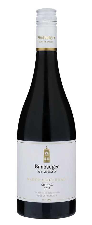 Bimbadgen SV Shiraz McDonalds Road 2017 (6x 750mL). Hunter Valley