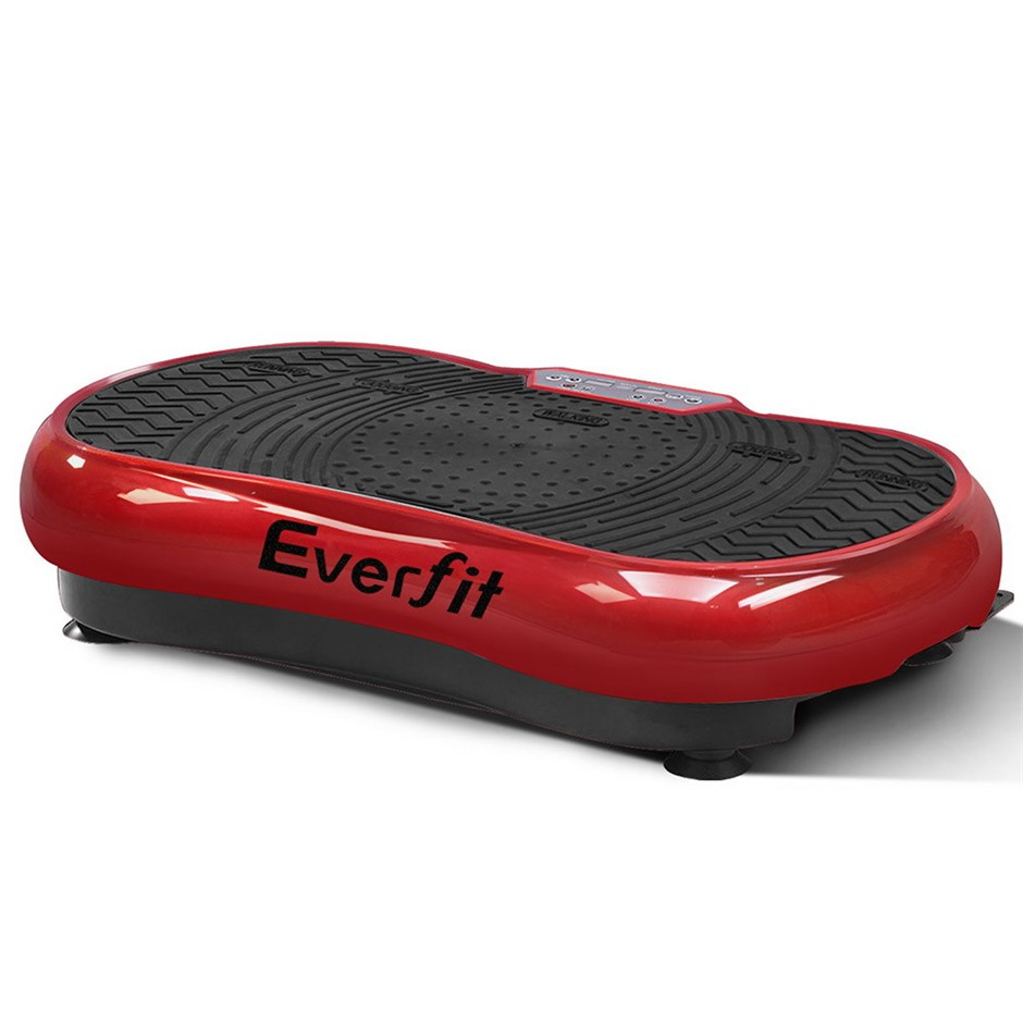Everfit Vibration Machine Platform Plate Bady Shaper Home Gym Fitness