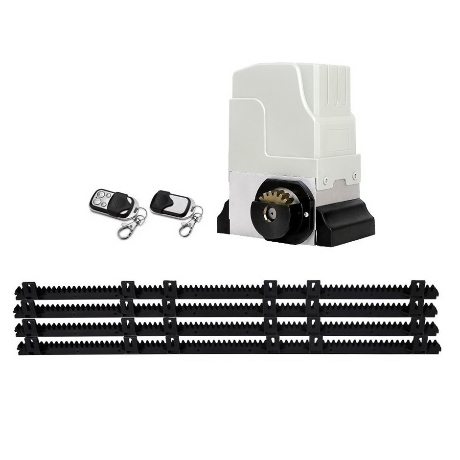 Giantz 1800KG Sliding Electric Gate Opener Remote Kit Heavy Duty 4M