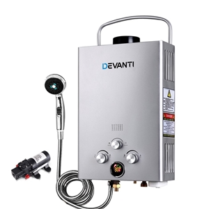 Devanti Outdoor Gas Hot Water Heater Por