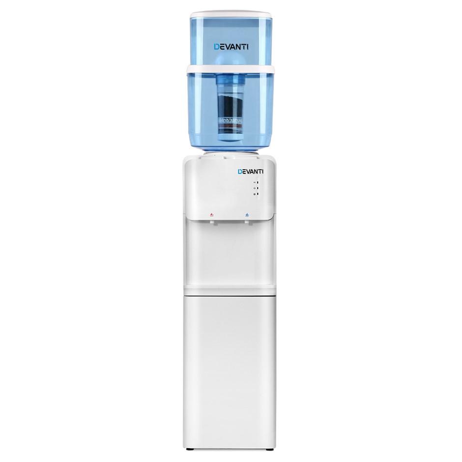 Devanti 22L Water Cooler Dispenser Stand Hot Cold Taps