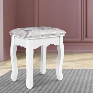 Artiss Dressing Stool Bedroom White Make