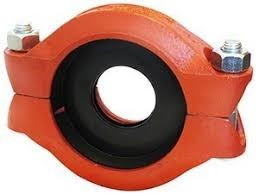 Groove Reducing Coupling, Epoxy Coated, 100 x 65 (114.3 to 76.1)