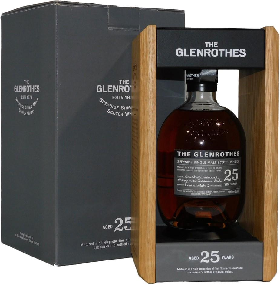 The Glenrothes Soleo 25 Year Old Single Malt Scotch Whisky NV (1x 700mL)